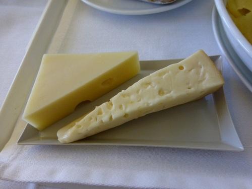 20120817エールフランスビジネスクラス 食事-チーズ.jpg