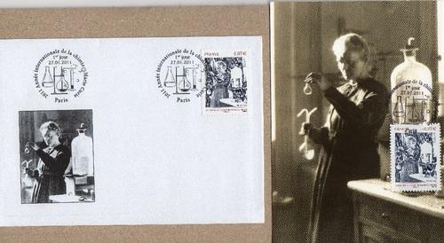 20121024キュリー夫人の封筒と絵葉書.jpg